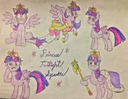 Princess Twilight Sparkle by BravoKrofski