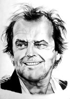 Jack Nicholson by dinodevic12
