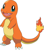 004 Charmander COLORED by MaddyJordan