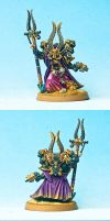 Ahriman of the Thousand Sons by Vanxee