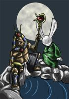 SnM - Anubis and Jade Rabbit by Ginny-N