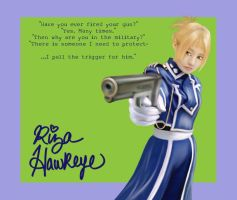 Riza Hawkeye by Ellifayne