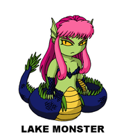 #112: Lake Monster by TinySailorMoon