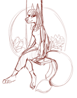 Personal art WIP by Donnecha