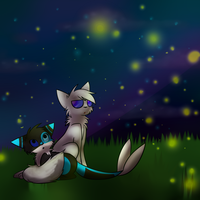 Fireflies -at with outlaw- by Xx-SunsetSkies-xX