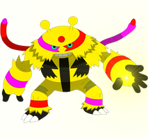 Reign the Electivire by kasanelover