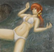 Kasumi on the River by liquidshade