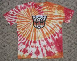 Autobot Tie-Dye by Beertree