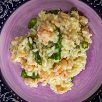 Risotto with shrimps and asparagus II by attomanen