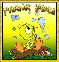 Thank You Tweety by Fangled-Robin