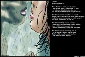 Mirror - Includes Poem by Robino