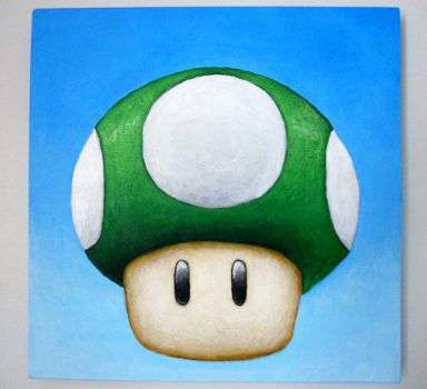 1-up Painting by TheLandoBros