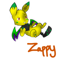 Zappy by SparkyChan23