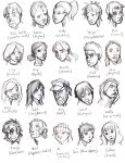 All The Faces of Survivors by Droemar