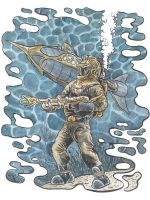 20,000 Leagues under the Sea - Diving Suit by Snake-Artist
