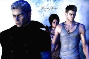Vergil-Dante-Kat by YaninaJohnson