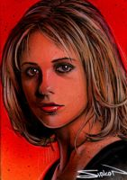 Buffy Sketch Card 4 by RandySiplon