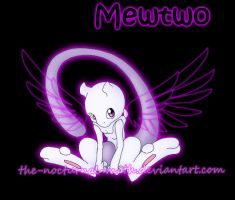 Angelic Baby Mewtwo by Chibi-Warmonger