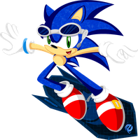 .: Sonic Web Surfer by Neon-Nazo