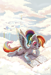 Rainbow Dash by The-Keyblade-Pony