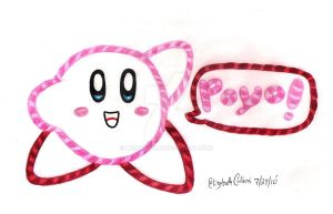 Kirby's Epic...Yarn? O___o by LizDraws