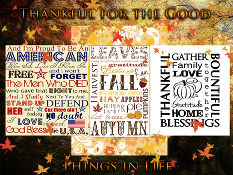 Collage of thanks... by theburningmuse