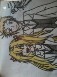 Ada Vessalius and Elliot Nightray by TheShortySwag