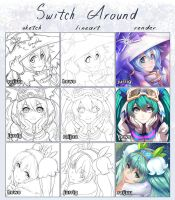 Switch around with Snow Miku! by Lightning-Spirit