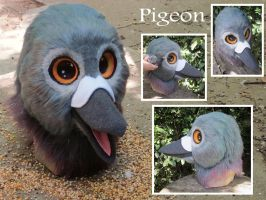 Pigeon by LilleahWest