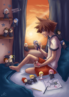 KH: My summer vacation... by Anyarr