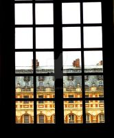 Through the Closed Window (Versailles) by Candycane4