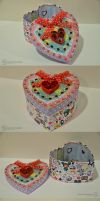 Heart Box Made With Love by sweetcivic