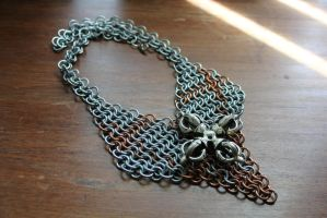 Copper and Steel Lancelot Collection Chanmaille by medievalfaery