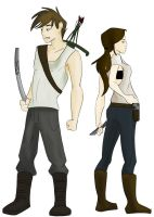Walking Dead OCs by bmbbaby4