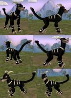 New version Spore Houndoom by GantzAistar