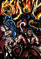 MARVELvsCAPCOM3 The Dream Team by TheAmericanDream