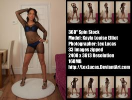 Kayla Spin A Stock by LexLucas