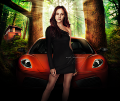 Bella Cullen - Car by Nikola94