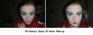 Queen of Hearts Make up by BlueBlasta