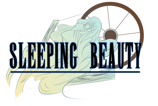 Sleeping Beauty logo mock up by aznswordmaster1