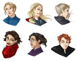 :: gendervengers by hawberries