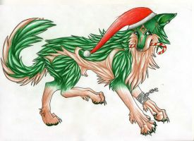 Link Wolf by Pernilles