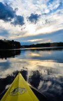 Kayak on a Mirror by Andashd