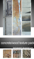 Concrete_wood texture pack by beckasweird