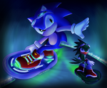 Sonic Free Riders by theziminvader