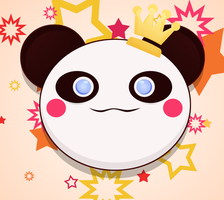 Kawaii : Panda chan by Citronade-Arts