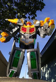 Drill Soarer MegaZord 1 by Witchenboy13
