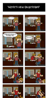 an artists view on Bitstrips by R64-art