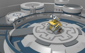 New Earth-New Wall-E Wallpaper UHD (For Desktops) by PixelOz