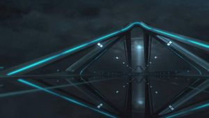 TRON Evolution screenshot wallpaper by Ask-Fangthevampire